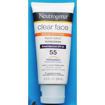 Kem chống nắng Neutrogena Clear Face Broad Spectrum SPF 55 từ Mỹ
