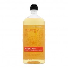 Sữa tắm giảm Street Energy orange ginger body wash & Foam bath 295ml từ Mỹ Aromatherapy