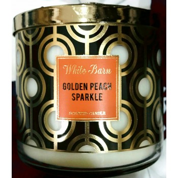 Nến Thơm Golden Peach Candles 411g Bath And Body Work