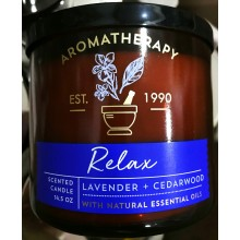 Nến Thơm Relax Aroma Candles 411g Bath And Body Works