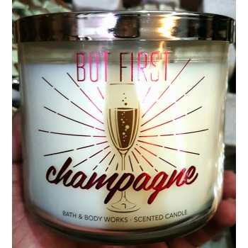 ​Nến Thơm But First Champagne Candles  411g Bath And Body Work