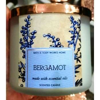 Nến Thơm Bergamot Candles 411g Bath And Body Work