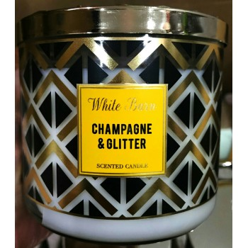 Nến Thơm Champagne & Glitter Candles 411g Bath And Body Work