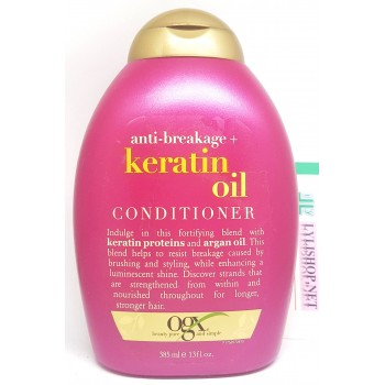 Dầu Xả Conditioner OGX Anti breakage Keratin Oil 385ml của Mỹ