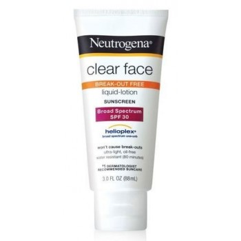 Kem chống nắng Neutrogena Clear Face Broad Spectrum SPF 30 từ Mỹ